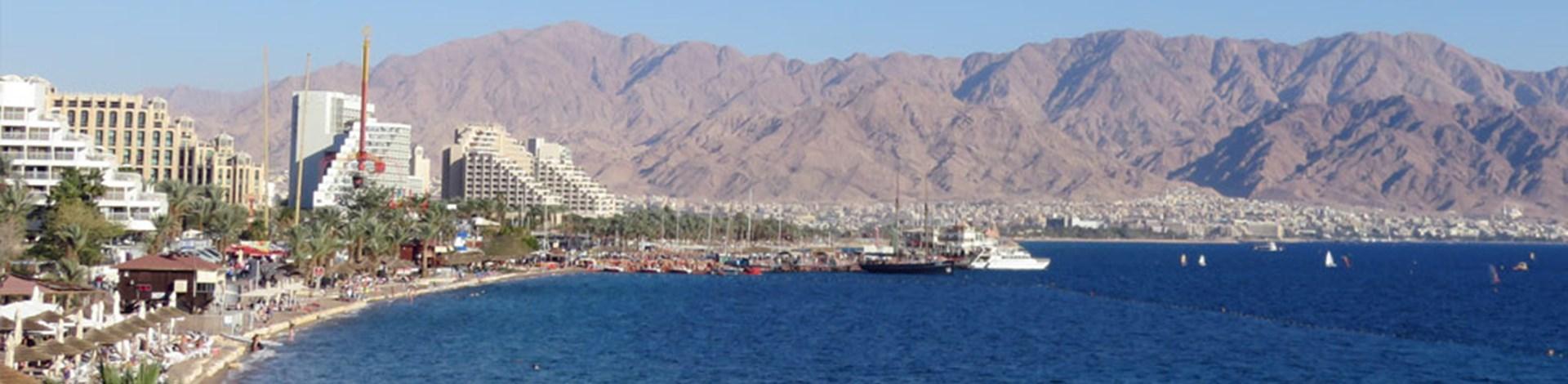 Eilat beach, Israel